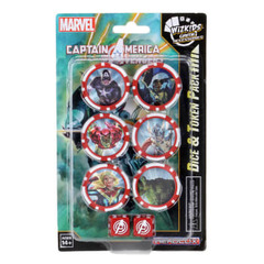 Marvel HeroClix: Captain America and the Avengers Dice & Token Pack