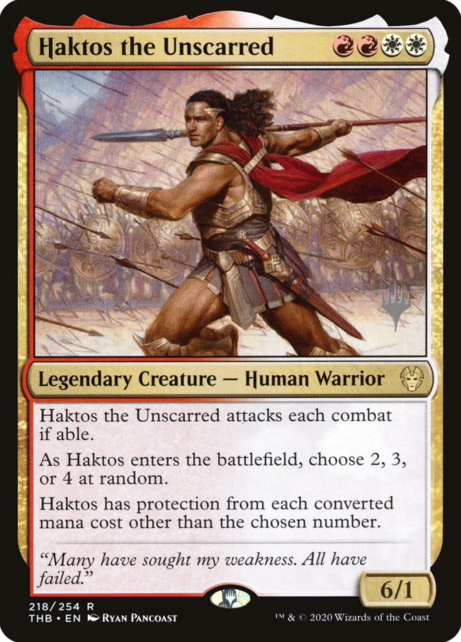 Haktos the Unscarred - Promo Pack