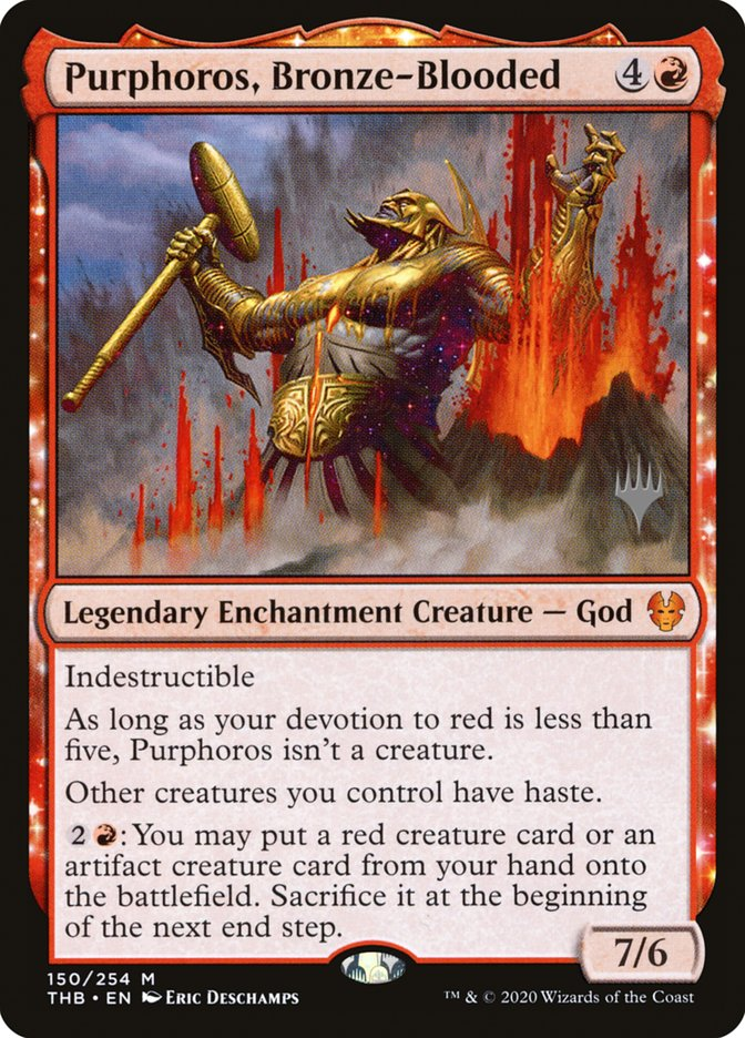Purphoros, Bronze-Blooded - Foil - Promo Pack