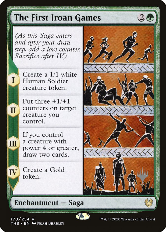 The First Iroan Games - Foil - Promo Pack