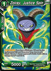 Zoiray, Justice Spin - BT9-048 - C - Foil
