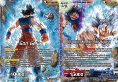 Son Goku // Ultra Instinct Son Goku, Limits Surpassed - BT9-100 - UC - Foil