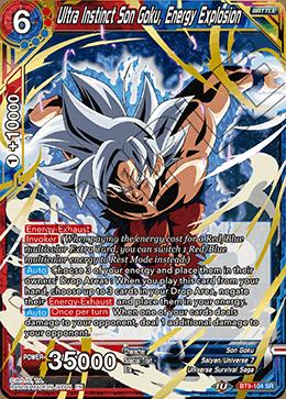 Ultra Instinct Son Goku, Energy Explosion - BT9-104 - SR