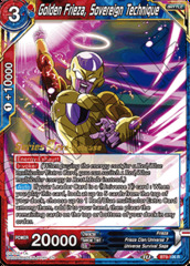 Golden Frieza, Sovereign Technique - BT9-106 - R