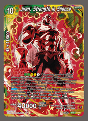 Jiren, Strength in Silence - BT9-119 - SR