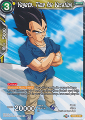 Vegeta, Time for Vacation - EX09-02 - EX - Foil