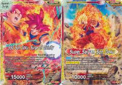 Super Saiyan Son Goku // SSG Son Goku, Surge of Divinity - EX09-03 - EX - Foil