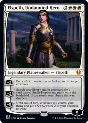 Elspeth, Undaunted Hero - Collector Pack Exclusive