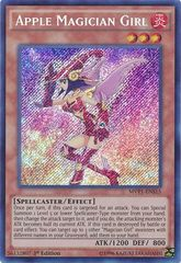 Apple Magician Girl - MVP1-ENS15 - Secret Rare - 1st Edition