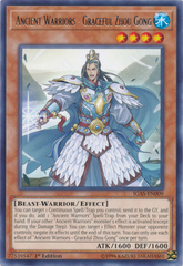 Ancient Warriors - Graceful Zhou Gong - IGAS-EN009 - Rare - 1st Edition