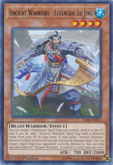 Ancient Warriors - Eccentric Lu Jing - IGAS-EN010 - Rare - 1st Edition