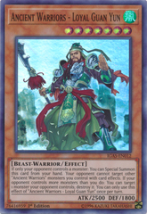 Ancient Warriors - Loyal Guan Yun - IGAS-EN012 - Super Rare - 1st Edition