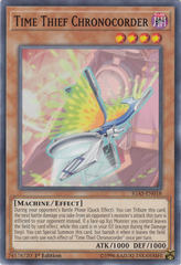 Time Thief Chronocorder - IGAS-EN018 - Common - 1st Edition