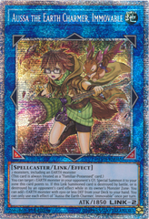 Aussa the Earth Charmer, Immovable - IGAS-EN048 - Starlight Rare - 1st Edition