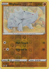Rhyhorn - 096/202 - Common - Reverse Holo