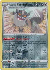 Galarian Perrserker - 128/202 - Reverse Holo Rare