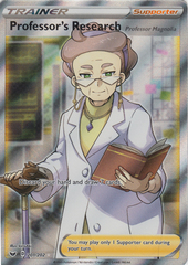 Professors Research - 201/202 - Full Art Ultra Rare