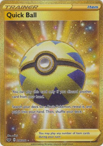 Quick Ball - 216/202 - Secret Rare