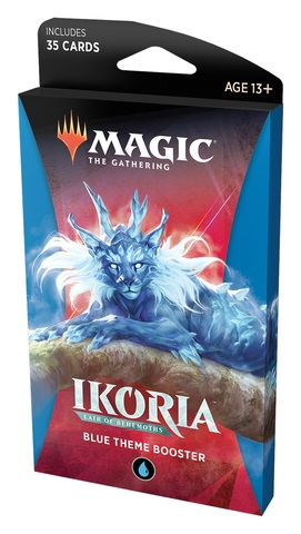 Ikoria: Lair of Behemoths Theme Booster - Blue