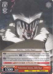 Predetermined Outcome, Goblin Slayer - GBS/S63-E038 - U