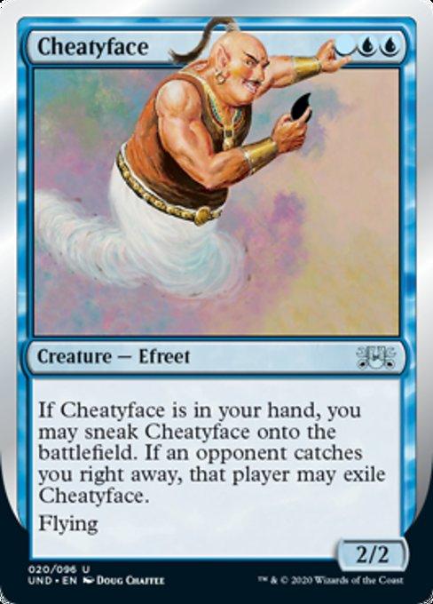 Cheatyface