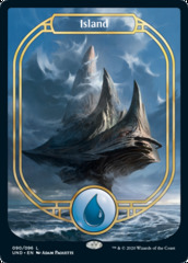 Island (Full Art) - Unsanctioned