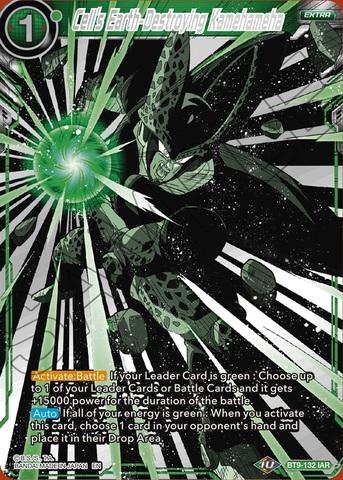 Cell's Earth-Destroying Kamehameha - BT9-132 - IAR