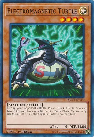 Electromagnetic Turtle - SDSH-EN019 - Common - 1st Edition