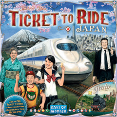 Ticket to Ride: Volume 7 - Japan & Italy