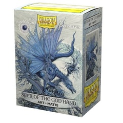 Dragon Shield Matte Art Sleeves: Seer of the God Hand (100ct)