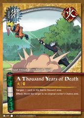 A Thousand Years of Death - J-009 - Common - 1st Edition - Diamond Foil