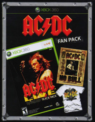 AC/DC Live Rock Band Track Pack [Fan Pack]