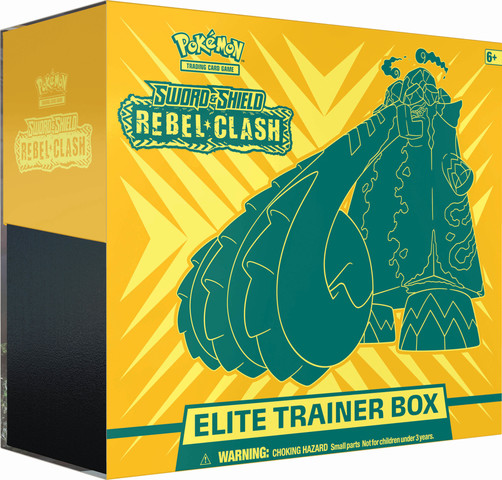 Sword & Shield - Rebel Clash Elite Trainer Box