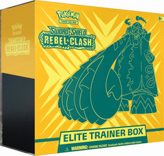 SS: Sword & Shield - Rebel Clash - Elite Trainer Box