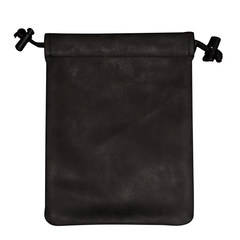 Suede Collection Treasure Nest Jet Black Dice Accessories Bag