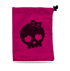 Treasure Nest - Skull Girl Dice Accessories Bag