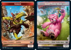 Goblin Token // Giant Teddy Bear Token