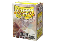 Dragon Shield Sleeves: Matte Non-Glare Clear (Box Of 100)