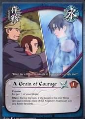 A Grain of Courage - M-124 - Common - 1st Edition - Diamond Foil