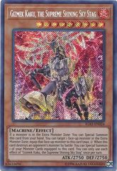 Gizmek Kaku, the Supreme Shining Sky Stag - IGAS-EN024 - Secret Rare - Unlimited Edition