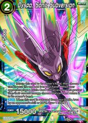 Dyspo, Sonic Subversion - DB2-059 - SR