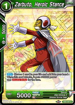 Zarbuto, Heroic Stance - DB2-081 - C