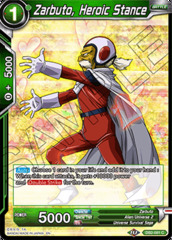 Zarbuto, Heroic Stance - DB2-081 - C - Foil