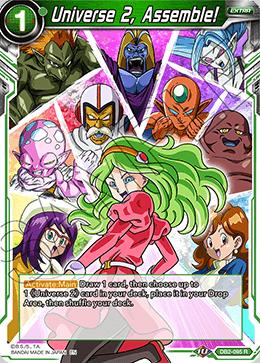 Universe 2, Assemble! - DB2-095 - R