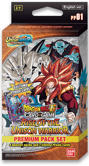 Dragon Ball Super - Premium Pack Set 01 - Rise of the Unison Warrior