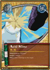 Acid Slime - J-206 - Uncommon - 1st Edition - Diamond Foil