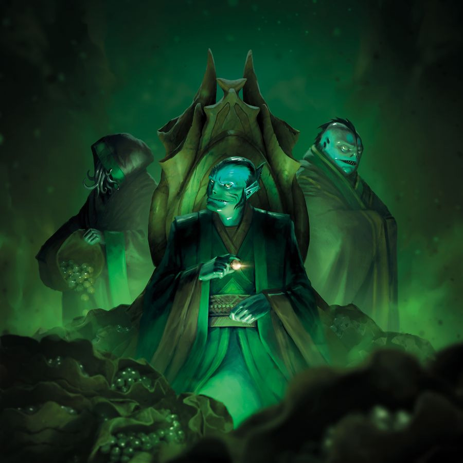 Conspiracy: Abyss Universe (Green Cover)