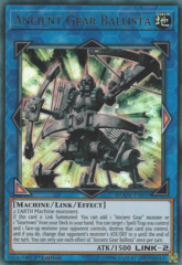 Ancient Gear Ballista - DUOV-EN010 - Ultra Rare - 1st Edition