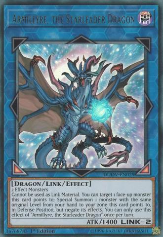 Armillyre, the Starleader Dragon - DUOV-EN029 - Ultra Rare - 1st Edition