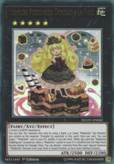 Madolche Puddingcess Chocolat-a-la-Mode - DUOV-EN082 - Ultra Rare - 1st Edition